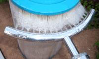 Nettoyage filtre cartouche piscine