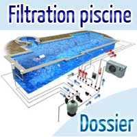 piscine débordement filtration