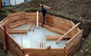 Piscine bois comment l 39 installer que dit la loi for Piscine bois a enterrer