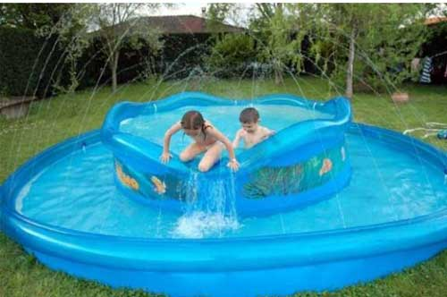 Piscine gonflable avantages inconv nients crit res de choix - Mini piscine gonflable ...
