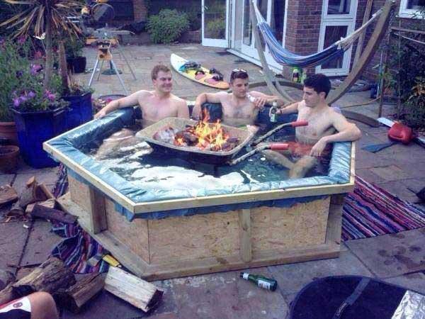 Pas de piscine pas de probl me for Chauffe eau au bois pour piscine