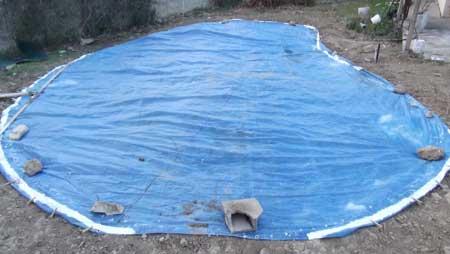 Comment bien faire le tra age d 39 une piscine for Piscine carbon blanc