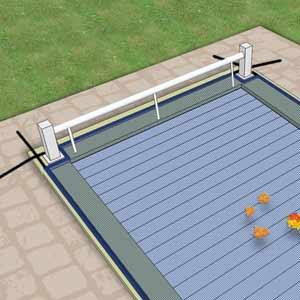 Hivernage piscine avec volet comment proc der for Nettoyer bache piscine