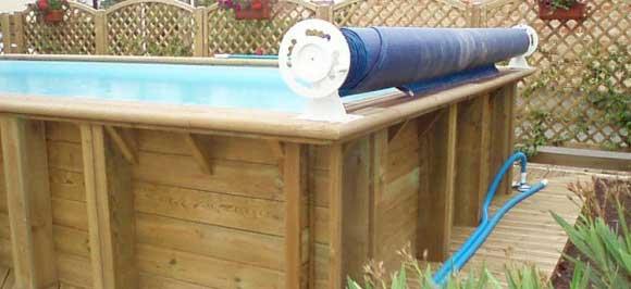 Enrouleur de bache piscine est ce n cessaire lequel - Enrouleur bache a bulle ...