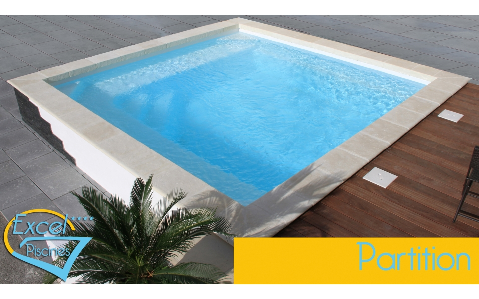 Prix piscine traditionnelle 10x5 photos de conception de for Piscine carree miroir