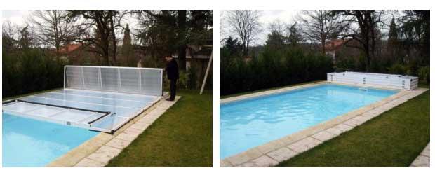 Abri plat caract ristiques avantages inconv nients for Avantage service piscine biot