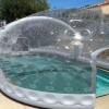 PoolUp propose des concepts originaux d'abir gonflable à double paroi.