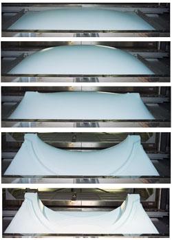 La fabrication d une coque de piscine for Fabricant de coque de piscine