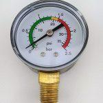 Le Manomètre : Indicateur de Pression du Système de Filtration