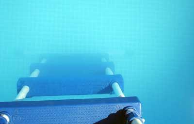 Eau trouble et blanch tre pourquoi comment r agir for Algues piscine ph