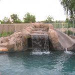 Evolution design piscines : Phoenix, Arizona USA - Années 2000