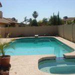 Evolution design piscines : Phoenix, Arizona USA - Années 1980