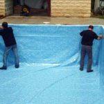 Pose liner piscine : Ce qu'il faut faire le jour J