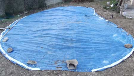 Comment bien faire le tra age d 39 une piscine for Coller bache bassin