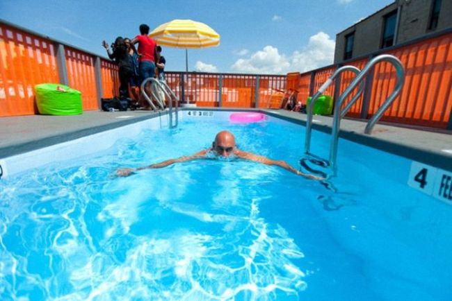 Piscine mobile comment d tourner une benne ordures for Piscinas montables