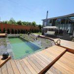 Construction d'un étang de baignade naturelle en images