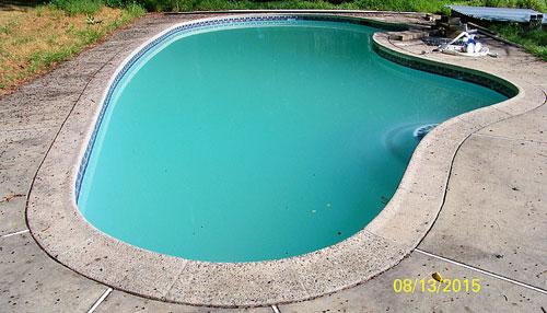 Rattrapage eau verte etude de cas for Eau de piscine trouble