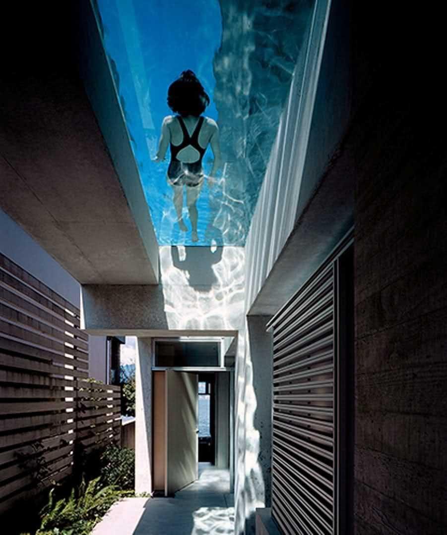Prix D Un Couloir De Nage piscine en verre ou à parois de verre : effet waouh garanti !