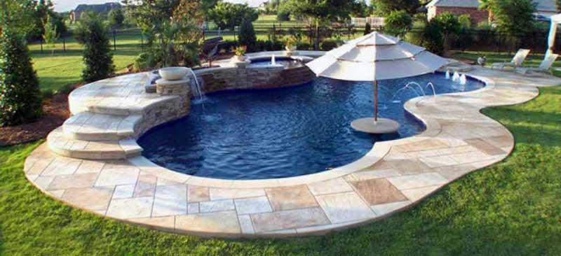 Parasols et piscines plusieurs possibilit s pour se for Table de piscine