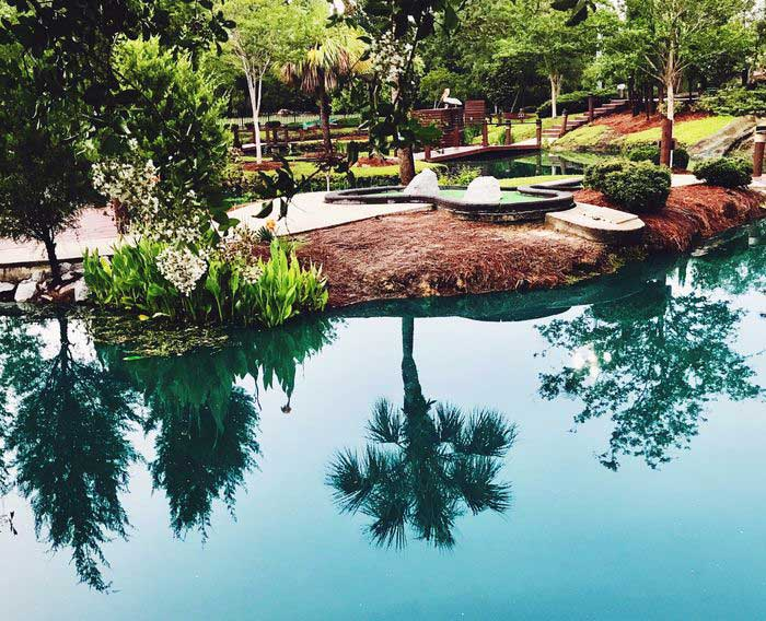 couleur eau piscine