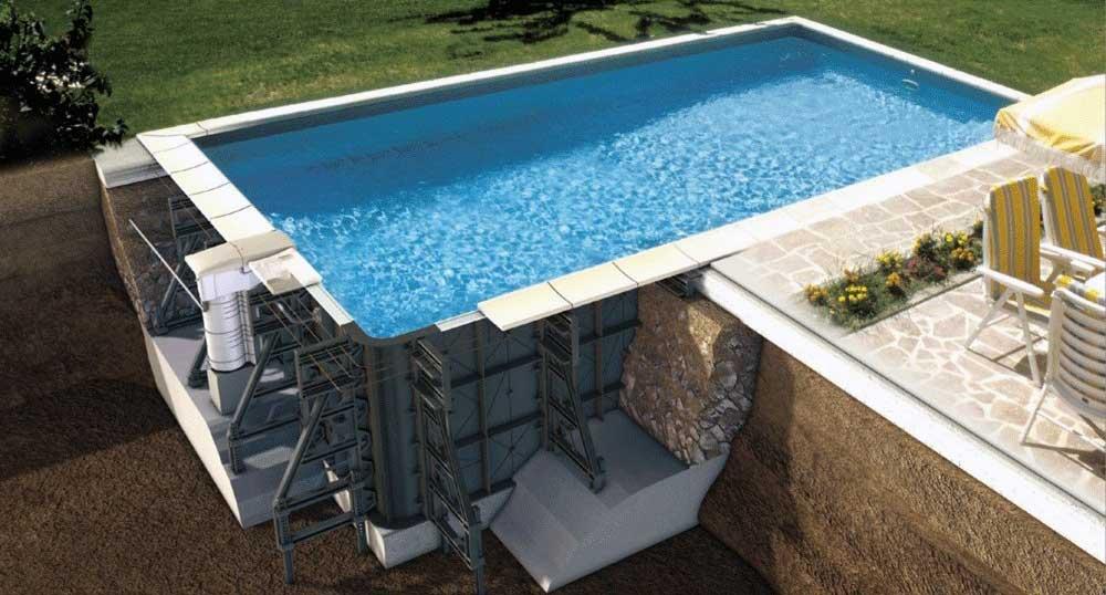 kit piscine tous les panneaux et coffrages possibles. Black Bedroom Furniture Sets. Home Design Ideas