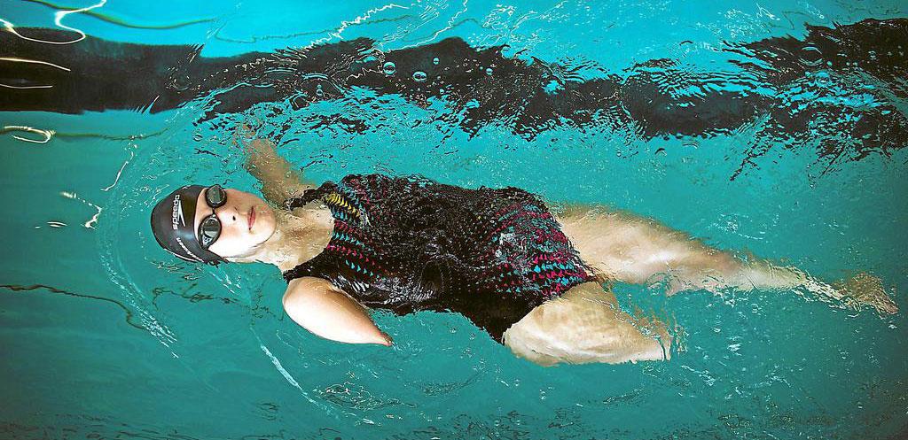 Vera Thamm Nageuse Paralympique